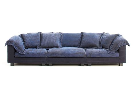 Large Comfortable Sofa by Diesel Collection Nebula Sofa By Moroso Stylepark