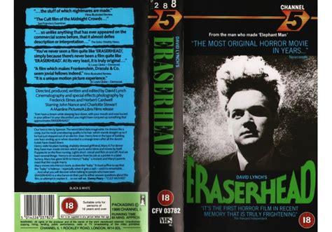 eraserhead   channel  united kingdom vhs videotape