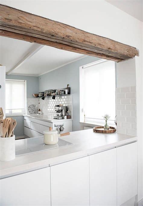 Halboffene Kuche by K 252 Chen Fresh Up Ein Hauch Blau Kitchen Haus