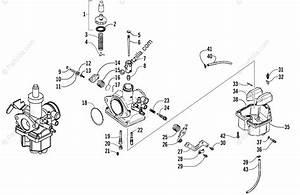Arctic Cat Atv 2006 Oem Parts Diagram For Carburetor
