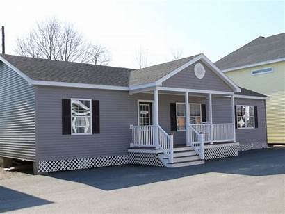 Modular Homes Ranch Manufactured Porch Porches Maine
