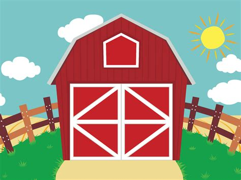 Barn Clipart by Peekaboo Barn Turns 5 With Big Birthday News
