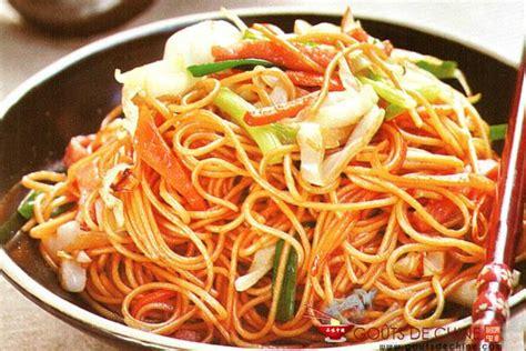 cuisine asiatique simple les nouilles sautées aux crevettes et aux légumes une