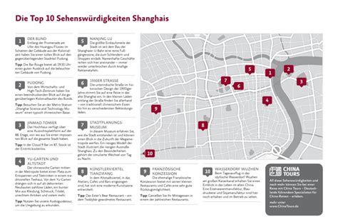 Die Top 10 Sehenswürdigkeiten Shanghai  China Tours Magazin