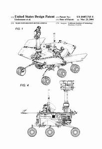 Mars Exploration Rover Patent - Space Art, Space Poster ...