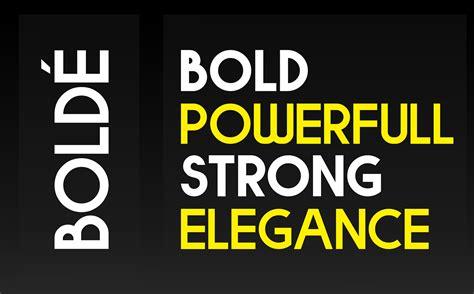 bolde strong bold sans serif font