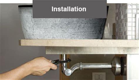 comment fixer une vasque sur un plan de travail installation d une bonde vasque import