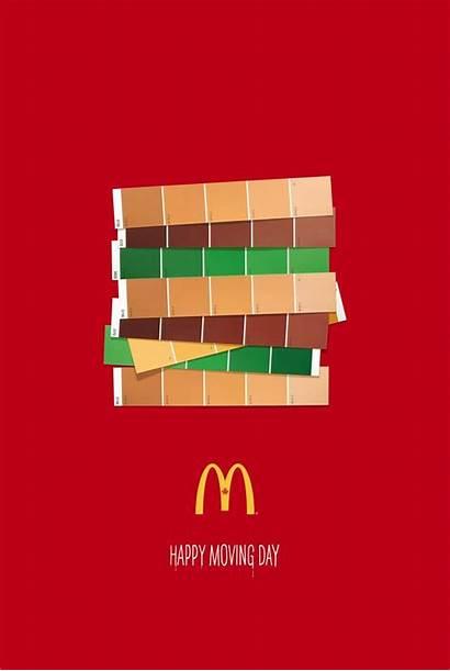 Mac Mcdonald Mcdonalds Campaign Ads Affiche Publicitaire