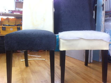 how to upholster diy re upholster your parsons dining chairs tips from a pro artisan upholstery studio