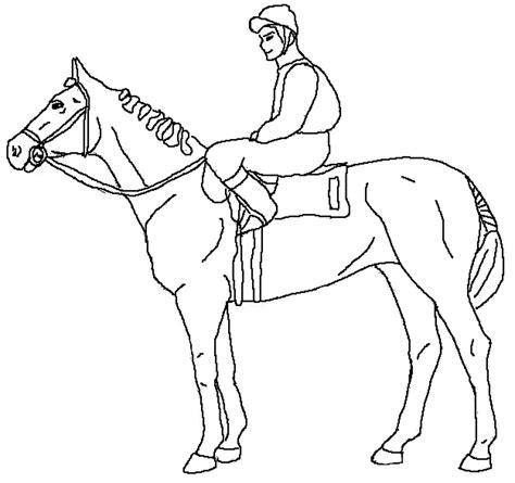 Coloring Horses Pages by Coloring Pages For Your Printable