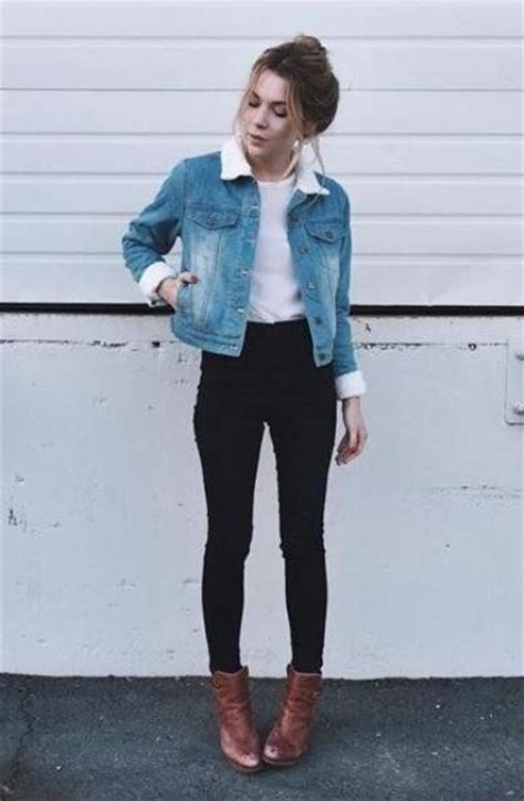 24 Stylish Fall Looks With A Denim Jacket - Styleoholic