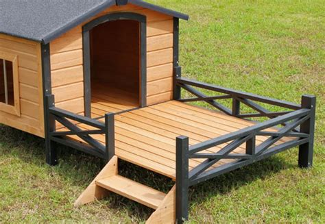 Wooden Dog House With Patio • Grabone Nz