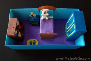 miniature bedroom craft 39 crafts firstpalette