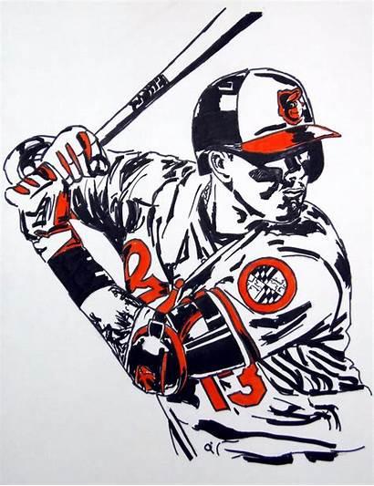 Machado Manny Colours Baseball Series Orioles