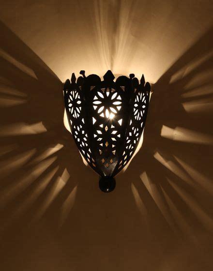 ami wall light fixture iron medium morocco middle