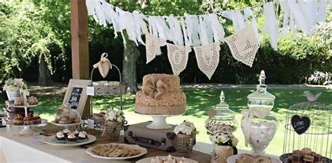 shabby chic wedding reception food ideas food favor vintage shabby chic wedding 2560850 weddbook