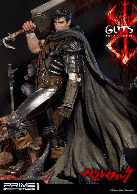 ultimate premium masterline berserk guts black swordsman
