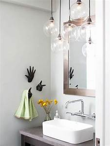 Luminaire Boule Verre : comment choisir le luminaire pour salle de bain ~ Teatrodelosmanantiales.com Idées de Décoration