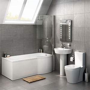 cheap p shaped bathroom suites With where to buy cheap bathroom suites