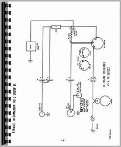 Deutz  Allis  D5206 Tractor Wiring Diagram Service Manual