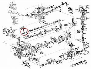 Throttle Shaft For Bosch Rotary Ve Mechanically Governed