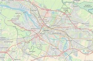 Google Maps Bremen : bremen map germany latitude longitude free maps ~ Watch28wear.com Haus und Dekorationen