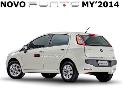 Fiat 2014 Models by 2014 Fiat Punto Gets Fiat Dna Technology Launch Soon Brazil