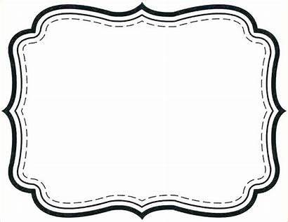 Fancy Label Template Templates Printable Tag Gift