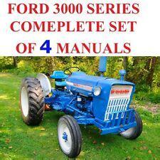 ford tractor repair manual ebay