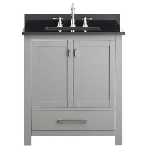 avanity modero  single bathroom vanity chilled gray
