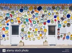 Wandverkleidung Außen Platten : traditionelle portugiesische keramik souvenir shop mit platten au en dekoration w nde sagres ~ Eleganceandgraceweddings.com Haus und Dekorationen