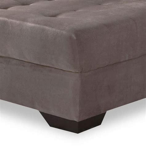 sofá 3 lugares suede chaise sof 225 3 lugares dijon chaise suede marrom claro