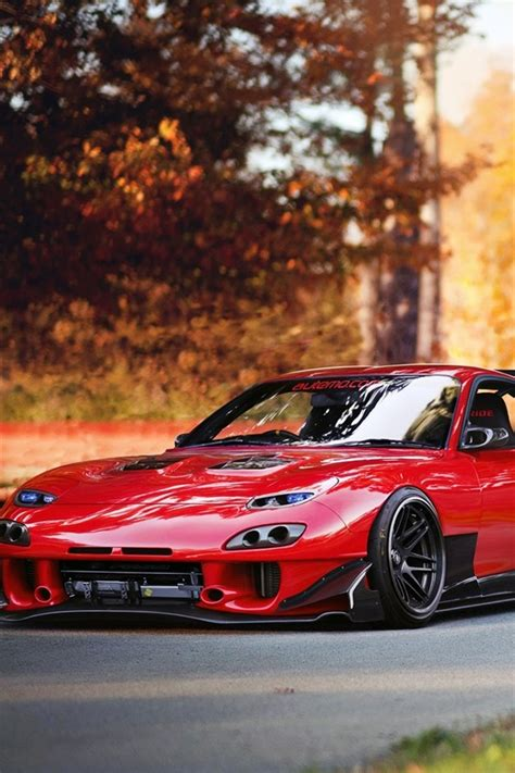 Mazda Iphone Wallpaper by Wallpaper Mazda Rx 7 Supercar Autumn 1920x1200 Hd