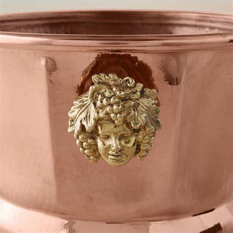 ruffoni historia hammered copper octagonal wine bucket williams sonoma au