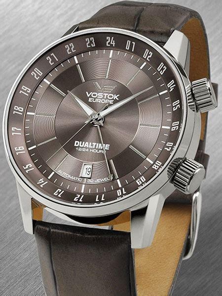 Vostok-Europe Men's Gaz-Limo Automatic, Dual Time Watch ...