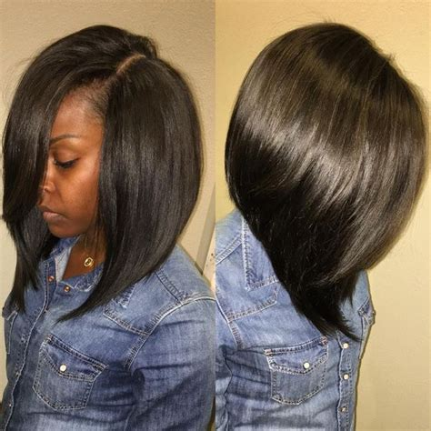 sew  hairstyles cute short  middle bob hair styles