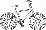 Coloring Bicycle Bike Colouring Printable Wecoloringpage Popular Getcolorings Coloringhome Cartoon sketch template