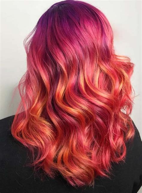 vibrant red hair color ideas  ladies   modeshack