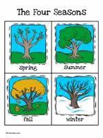 Weather Chart Printables For Preschool Weather Seasons Printable Cards Prekinders
