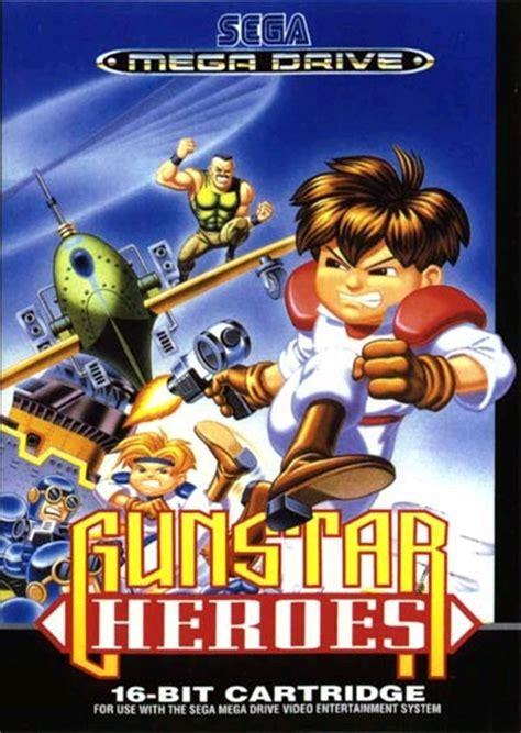 gunstar heroes game art