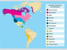 Vector of Ancient Cultures in the Americas Download Free