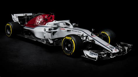 F1 News by Sauber Unveil F1 Car With Alfa Romeo The C37 For