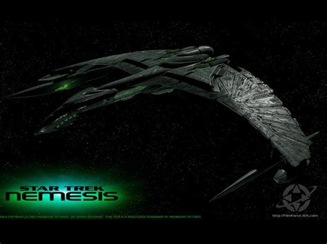 star trek nemesis  computer desktop wallpaper