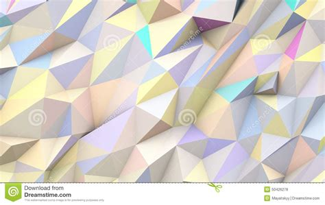 pastel abstract triangles poly colors geometric shape