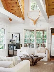 42, Comfy, Lake, House, Living, Room, Decor, Ideas