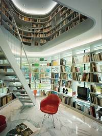 interesting modern interior design ideas Interesting Home Library Designs for Modern Homes ...