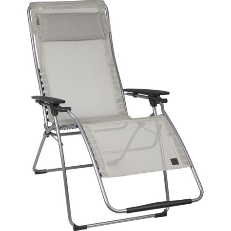 chaise longue plage lafuma futura clipper xl recliner backcountry com