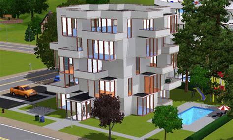 sims 3 appartement cubique cubic apartment architecture maison house jeu les sims 3