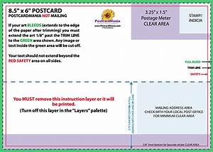 postcard design and mailing free templates 4x6 5x7 6 With jumbo postcard template