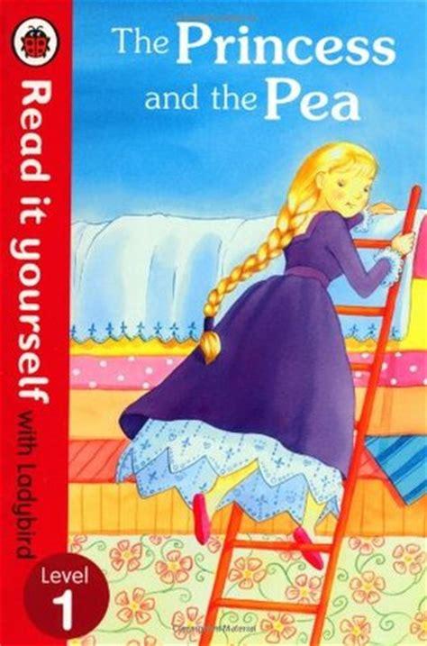 princess   pea read    ladybird
